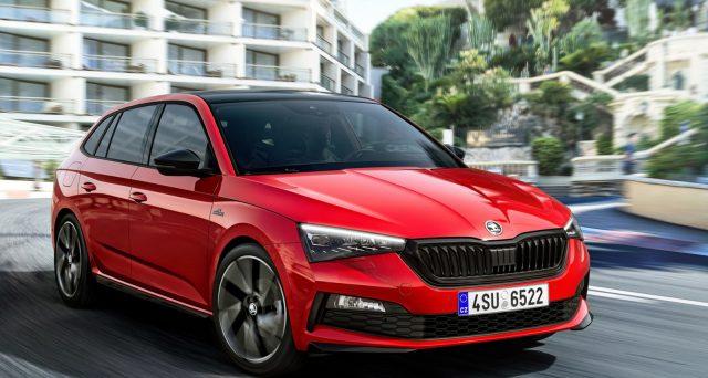 Skoda Scala Monte Carlo sarà una delle principali attrazioni del marchio ceco al Salone dell'auto di Francoforte