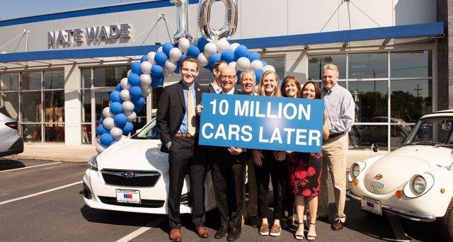 Subaru vende la vettura numero 10 milioni negli Stati Uniti, la casa giapponese è presente in USA dal 1968