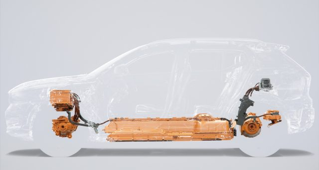 Volvo XC40 elettrica