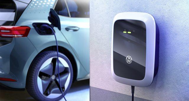 Volkswagen ha deciso di lanciare una gamma di Wallbox per uso domestico in coincidenza dell'arrivo della nuova ID.3