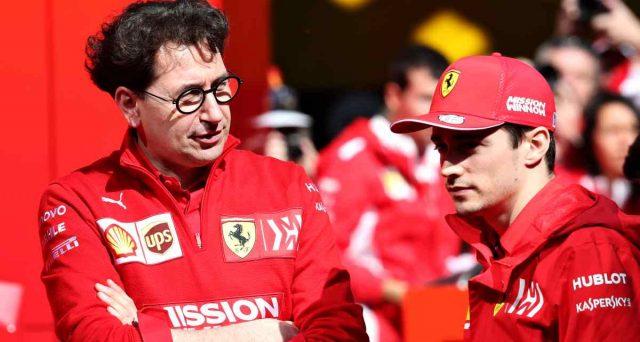Leclerc e Binotto