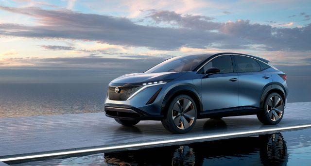 Nissan Ariya Concept, svelato al Tokyo Motor Show 2019, segna l'alba di una nuova era per la casa nipponica