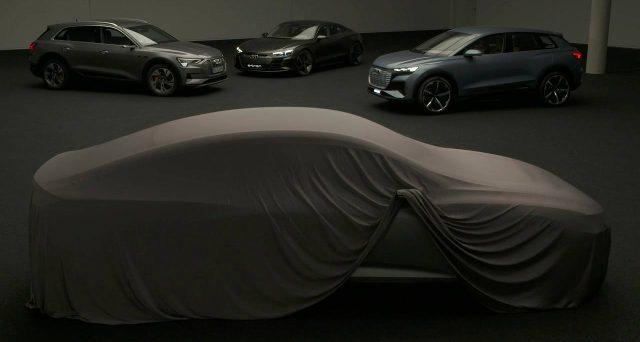 Nuova Audi e-tron coupè