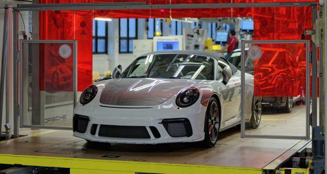 L'ultima Porsche 911 della serie 991 è stata prodotta nei giorni scorsi