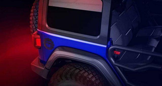 Jeep Wrangler teaser