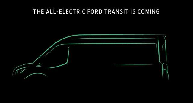 Ford Transit elettrico