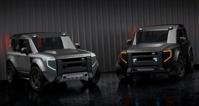 Mini Land Rover Defender