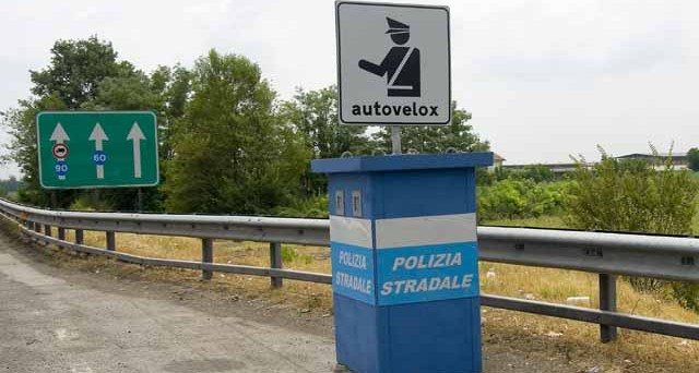 postazioni autovelox italia