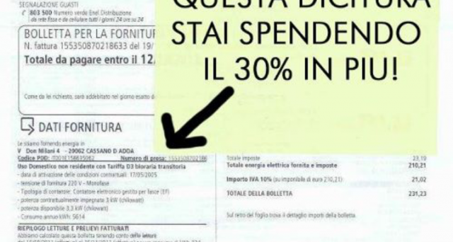 E' possibile avere diritto al rimborso delle bollette dell'Enel degli ultimi 10 anni se si sono pagate somme non dovute.