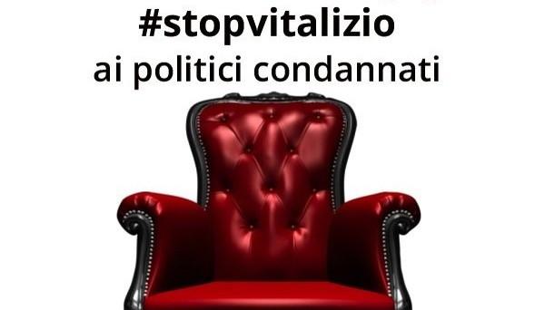 Una petizione per dire basta ai vitalizi dei politici e dei dipendenti pubblici condannati in via definitiva per reati di mafia e corruzione