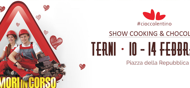 Cioccolentino 2017 a Terni: data ed eventi della famosa festa del cioccolato in occasione di San Valentino, dedicata agli innamorati e non solo.