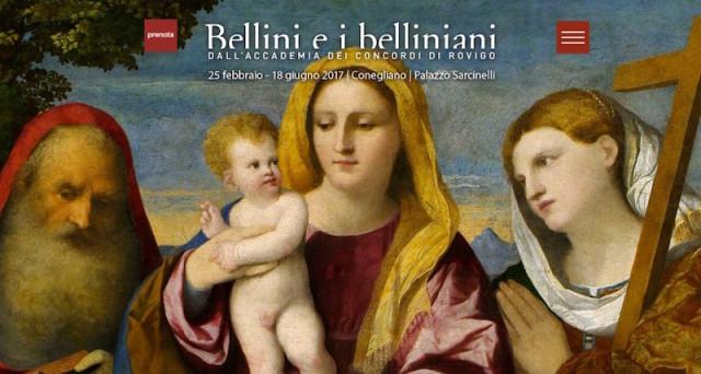 Mostra 'Bellini e i belliniani' a Conegliano: una rassegna dedicata all'iconografia belliniana nel cinquecentenario della morte del maestro Giovanni Bellini.