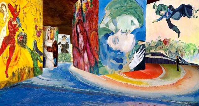 """Mostra """"Chagall. Sogno di una notte d'estate"""" a Milano: da ottobre una rassegna spettacolo al Museo della Permanente."""