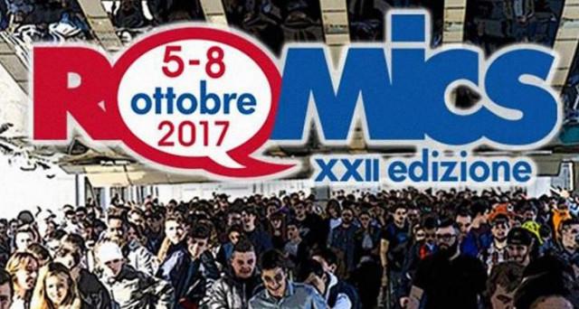 Sta per iniziare Romics 2017 la rassegna internazionale del fumetto che si tiene presso la Fiera di Roma.