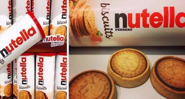 Dopo la crema Pan di Stelle, il KitKat verde al tè matcha e la crema Rossana arrivano anche i  Nutella Biscuits.