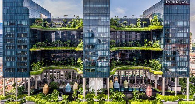 Quindici bellissime architetture del XXI secolo da vedere assolutamente secondo Lonely Planet.