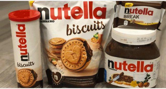 Arrivano a maggio in Francia i biscotti alla Nutella destinati a raggiungere anche l'Italia.