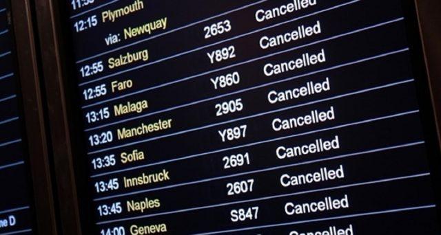 Orari, voli riprenotati, voli cancellati e rimborso in merito alla sciopero del 14 gennaio 2020.