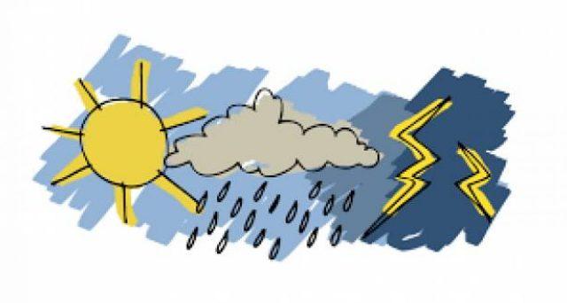 Previsioni meteo 9 e 10 novembre, fine settimana con piogge e temporali
