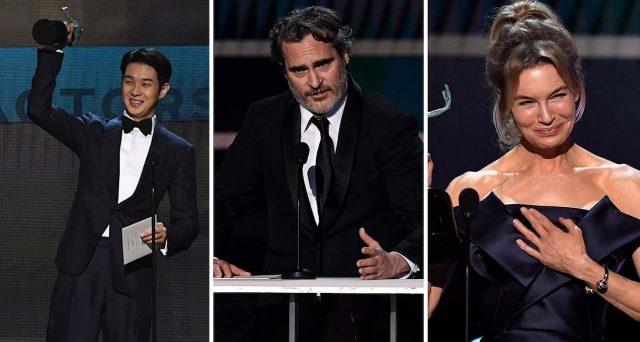 SAG Awards 2020, premiati tra gli altri Parasite, Il Trono di Spade e Brad Pitt