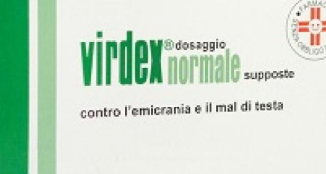Virdex, farmaco contro emicrania riturato dal mercato, ecco i lotti incriminati.