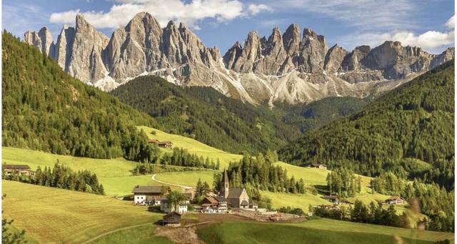 I più bei luoghi di montagna da visitare in Italia.