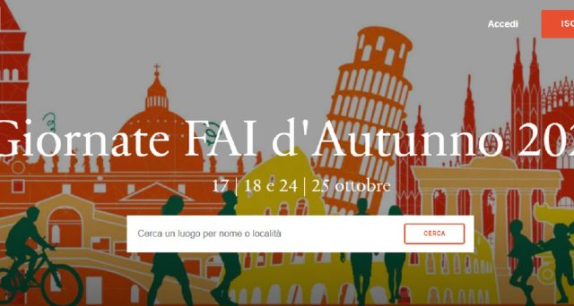 Ecco i luoghi visitabili per le giornate Fai d'Autunno 2020 di ottobre a Napoli, Palermo e Roma.
