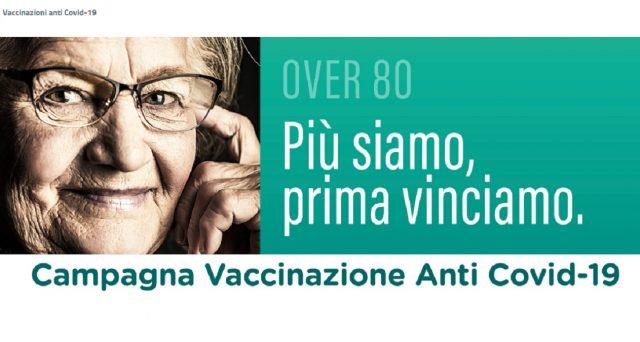 Come prenotare in Campania, Lombardia e Piemonte il vacino anti-Covid per gli over 80.