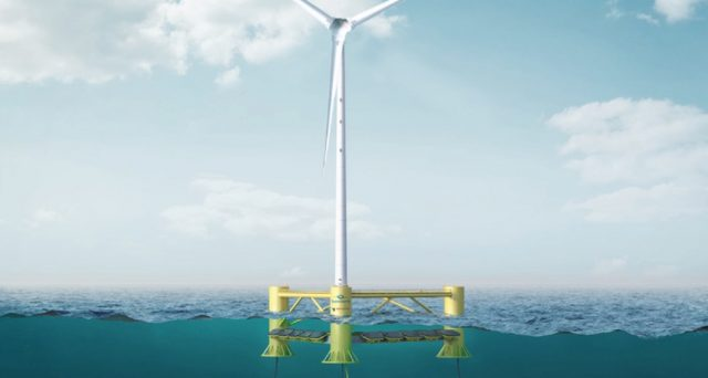 Per sfruttare appieno l'energia del mare nasce il progetto InSPIRE: un nuovo impianto che cattura assieme l'energia del vento e delle onde.