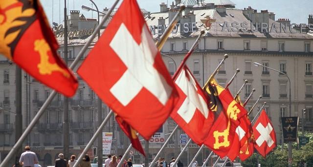 Swiss flags MP9004255021