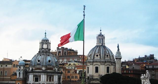 italian flag rome