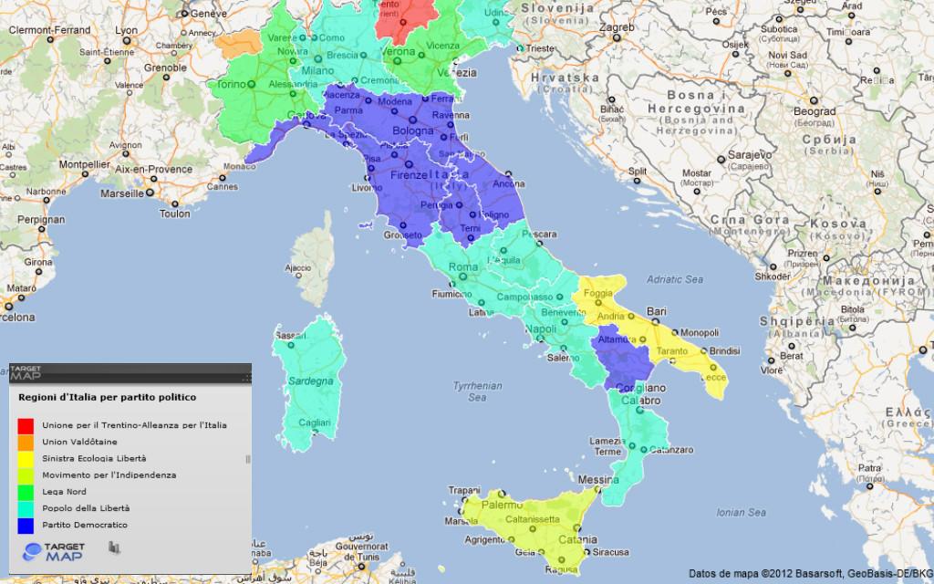 Le regioni si ricomprano i bond a lunga scadenza - Regioni italiane non bagnate dal mare ...