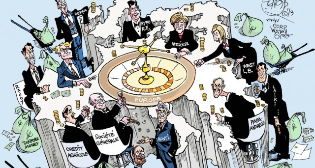 Deustche Bank indagata a Trani per manipolazione del mercato sulla vendita massiccia di Btp. Per lo stesso filone d'inchiesta sono a processo gli analisti di Standard & Poor's