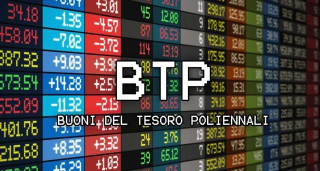 Btp€i, buona domanda e rendimenti in discesa