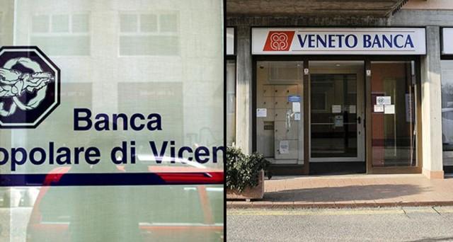 La Ue chiede che anche i privati intervengano nel salvataggio delle banche, ma nessuno vuole metterci soldi. Rischio bail in per Veneto Banca e Pop. Vicenza