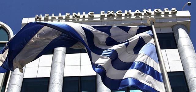 Il costo di finanziamento a 10 anni della Grecia tratta in calo di quasi 15 punti base al 4,28%