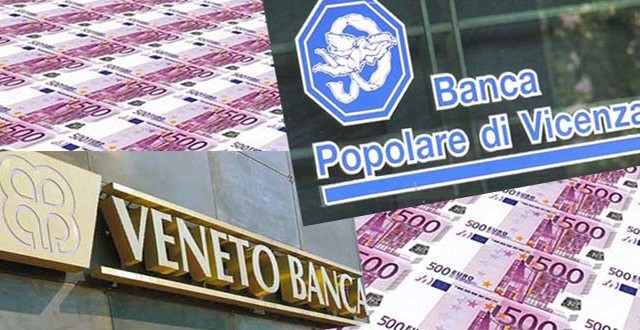 Banche venete, Ue ha chiesto intervento aggiuntivo privati per circa 1 mld