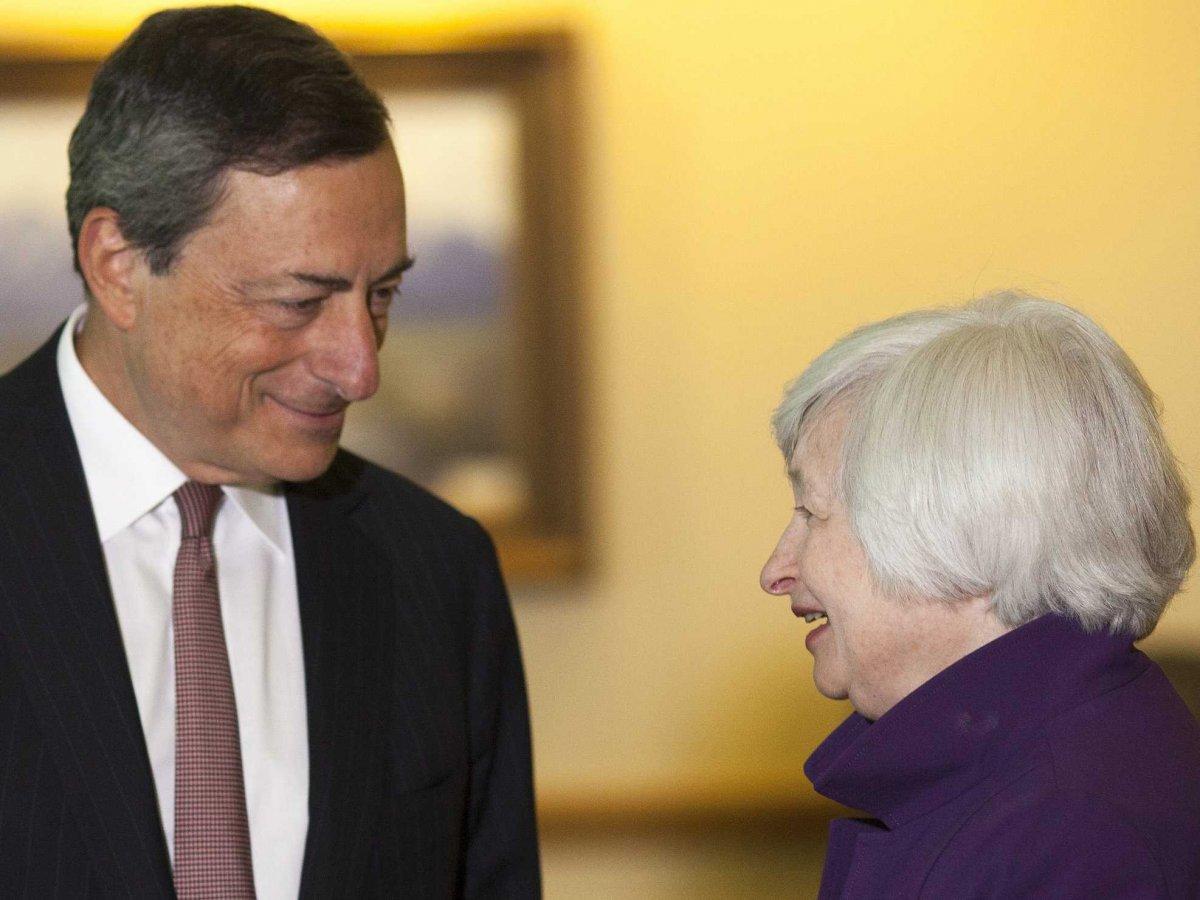 Draghi annuncer la fine del qe a jackson hole for Stazione di jackson hole cabin