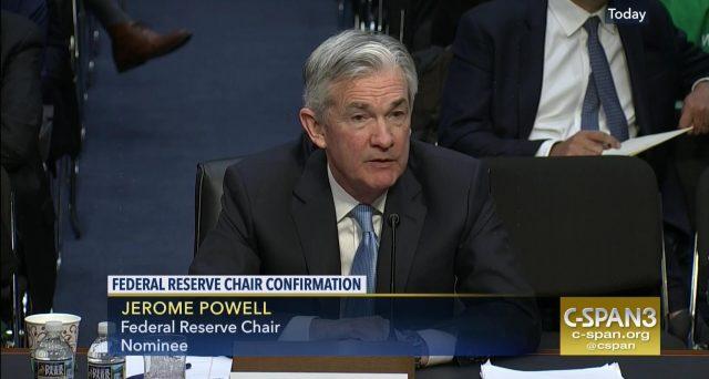 La banca centrale USA aumenterà i tassi un'altra vota quest'anno e lungo il 2019, per mantenere l'economia su una rotta stabile