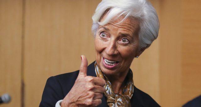 Come Lagarde farebbe la storia alla BCE