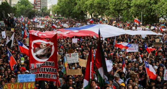 Le proteste in Cile non si fermano