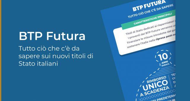 Tassi Btp Futura confermati, 60% sottoscrittori sono nuovi investitori. Sottoscritti 6,13 miliardi di euro, leggermente meno delle attese del governo.