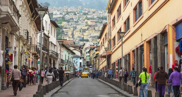 Bond Ecuador in risalita