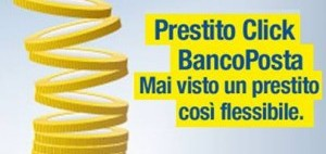 bancoposta prestito click