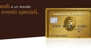 Carta Oro American Express, un mondo di sconti ed eventi speciali: ecco come ottenerli