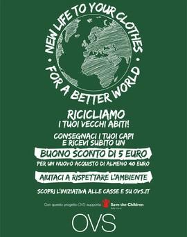 PROMO RICICLO leaflet print