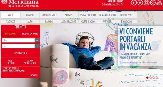 Con Meridiana i bambini volano gratis: ecco i dettagli sull'offerta della compagnia low cost e