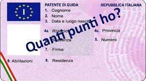Punti patente, ecco come verificare il saldo online.