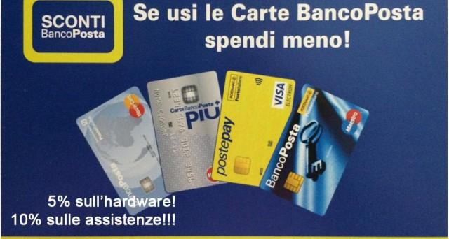 Sconti Bancoposta 2016: ecco i dettagli delpiano di Poste Italiane che premia i titolari di una carta prepagata o di un conto