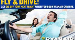 Volo più macchina: la nuova promozione Ryanair per chi vuole prenotare il pacchetto